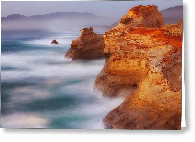 Pacific Ocean Prints Greeting Cards - Romancing the Stone Greeting Card by Darren  White