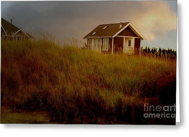 Storm Prints Digital Greeting Cards - Romantic Beach Getaway Greeting Card by Beverly Guilliams