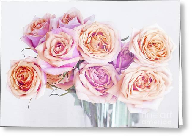 Romantic Bouquet Greeting Card by Irina Wardas