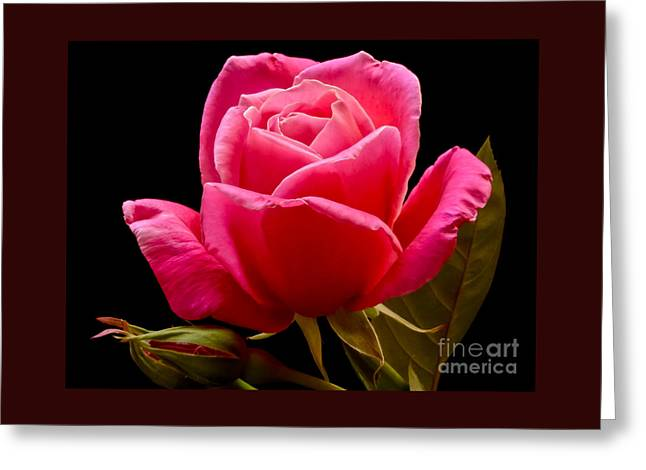 Romantic Greeting Card by Nick  Boren