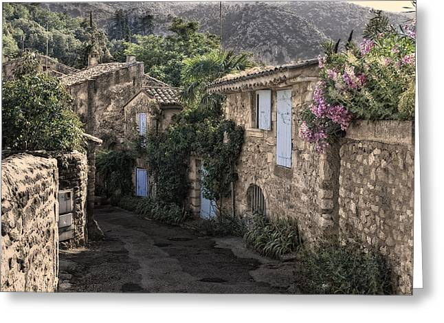 Provence Village Photographs Greeting Cards - romantical Provence Greeting Card by Joachim G Pinkawa