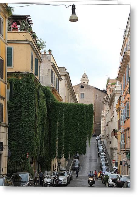 Roman Streets Greeting Cards - Rome 2 Greeting Card by Andrew Fare