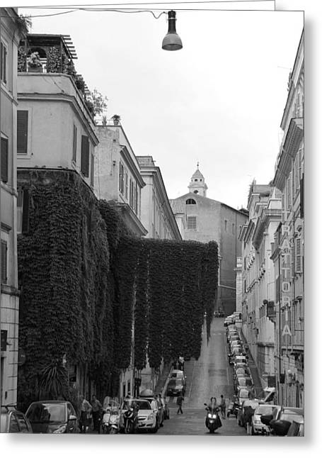 Roman Streets Greeting Cards - Rome 3 Greeting Card by Andrew Fare