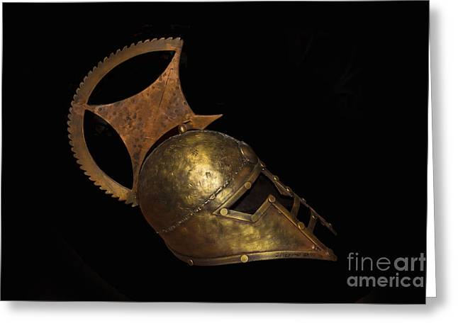 Metal Sculpture Greeting Cards - Rome Was Not Built In A Day Greeting Card by Al Bourassa
