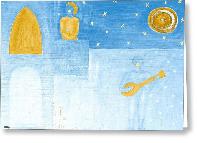 Romeo And Juliet Greeting Cards - Romeo And Juliet 5 Greeting Card by Patrick J Murphy