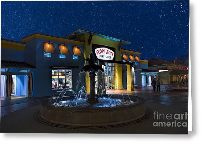 Surfing Photos Greeting Cards - Ron Jon Surf Shop at Myrtle Beach Greeting Card by Robert Loe