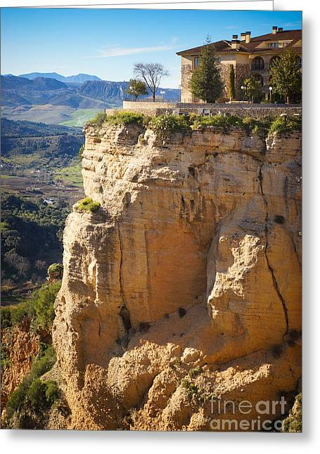Andalucia Greeting Cards - Ronda Andalucia Greeting Card by Lutz Baar