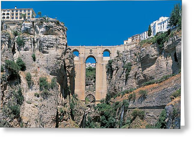 Andalucia Greeting Cards - Ronda Andalucia Spain Greeting Card by Panoramic Images