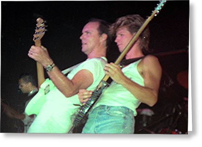 Ronnie Montrose Greeting Card by Sheryl Chapman Photography