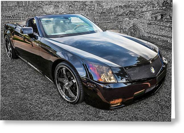 High-performance Luxury Car Greeting Cards - Rons 2004 Cadillac XLR Greeting Card by Rich Franco