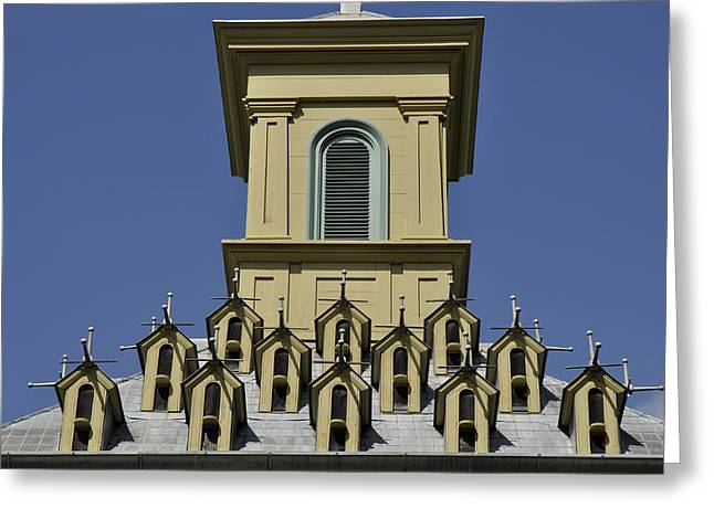 Dundurn Castle Greeting Cards - Rooftop Greeting Card by Trevor Varley
