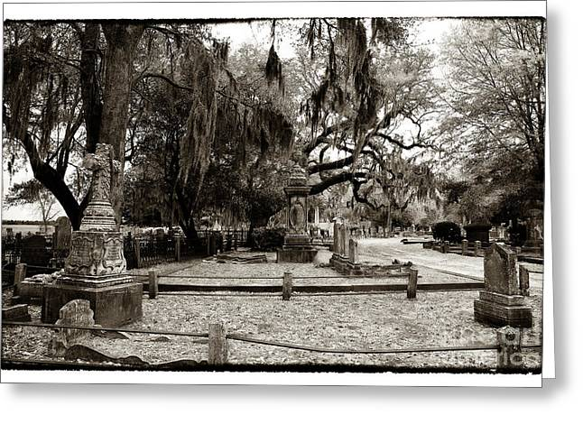 Historic Cemetery Greeting Cards - Room Available at Magnolia Greeting Card by John Rizzuto
