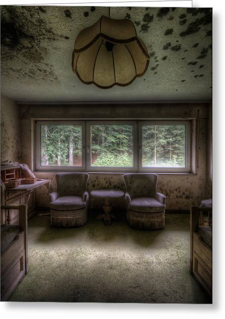 Abandoned Houses Digital Greeting Cards - Room for two Greeting Card by Nathan Wright