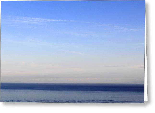 Sea. Morning Greeting Cards - Room With A View - Day 5 Greeting Card by Steffi Louis