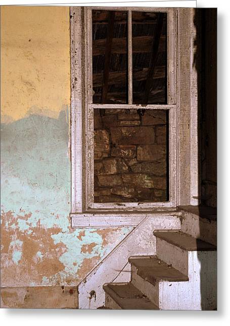 Bedford Hills Greeting Cards - Room With A View Greeting Card by Mary Beth Landis