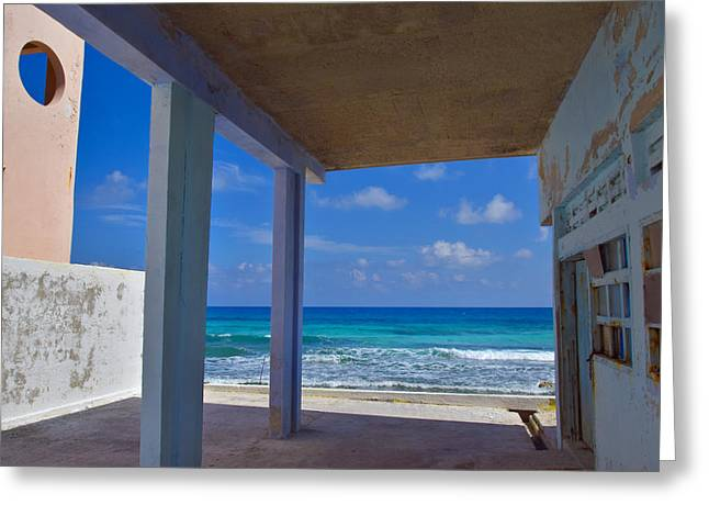 Room With A View Greeting Cards - Room with a View Greeting Card by Skip Hunt
