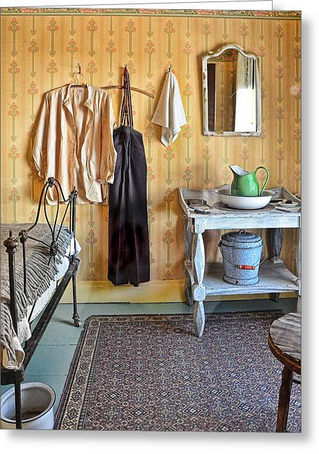 Barkerville Greeting Cards - Rooms To Let Greeting Card by Ed Hall