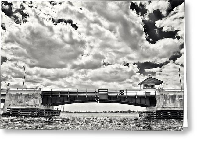 Martin County Greeting Cards - Roosevelt Bridge Greeting Card by Patrick M Lynch