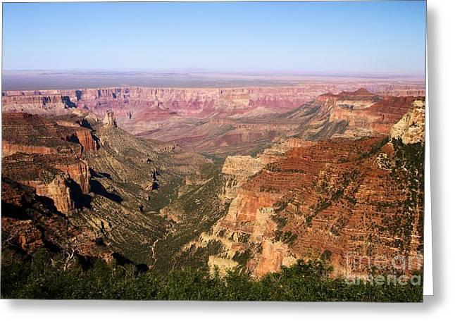 The Grand Canyon Greeting Cards - Roosevelt Point Greeting Card by Adam Jewell