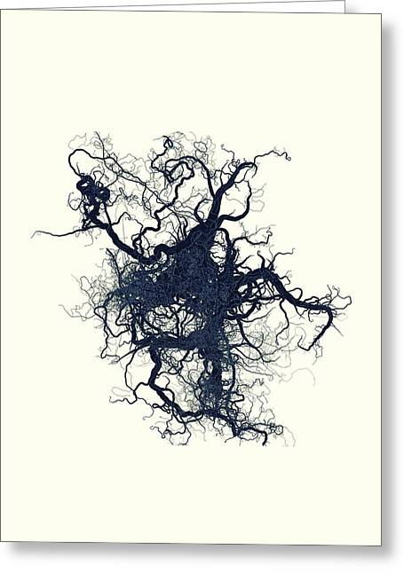 Untitled Greeting Cards - Root Greeting Card by PandaGunda