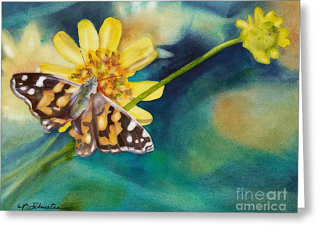 Roots And Wings Greeting Cards - Roots and Wings Greeting Card by Amanda Schuster