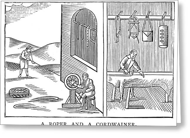 Roper & Cordwainer, 1659 Greeting Card by Granger