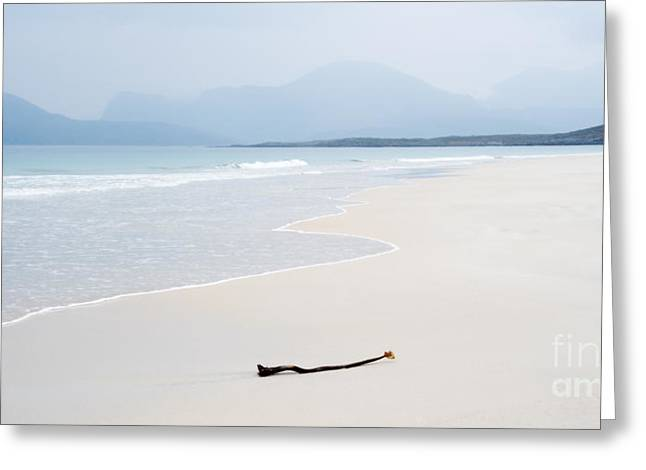 Outer Hebrides Greeting Cards - Traigh Rosamol Isle of Harris Greeting Card by Janet Burdon