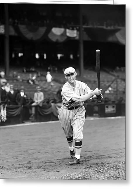 National League Baseball Greeting Cards - Roscoe A. Wattie Holm Greeting Card by Retro Images Archive