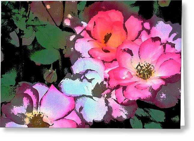 Botanical Greeting Cards - Rose 197 Greeting Card by Pamela Cooper