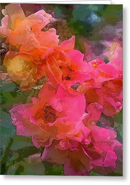 Rose 219 Greeting Card by Pamela Cooper