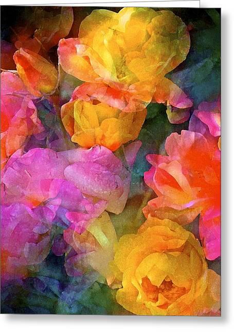 Pamela Cooper Greeting Cards - Rose 224 Greeting Card by Pamela Cooper