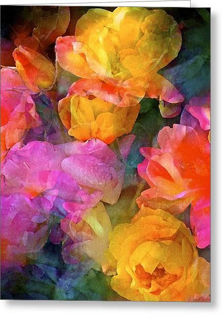 Rose 224 Greeting Card by Pamela Cooper