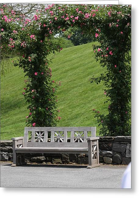 Rose Arch At Longwood Gardens Greeting Card by Vadim Levin