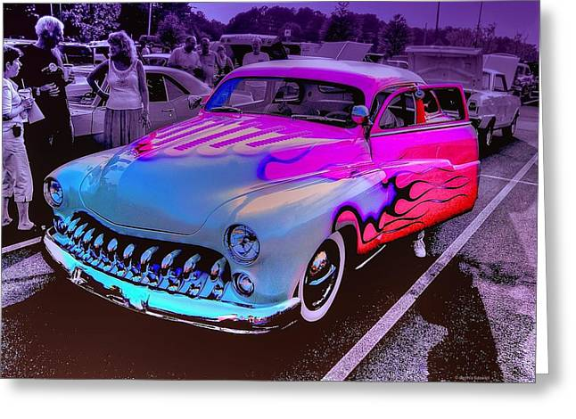 Rose Colored Glasses Greeting Card by Dennis Baswell