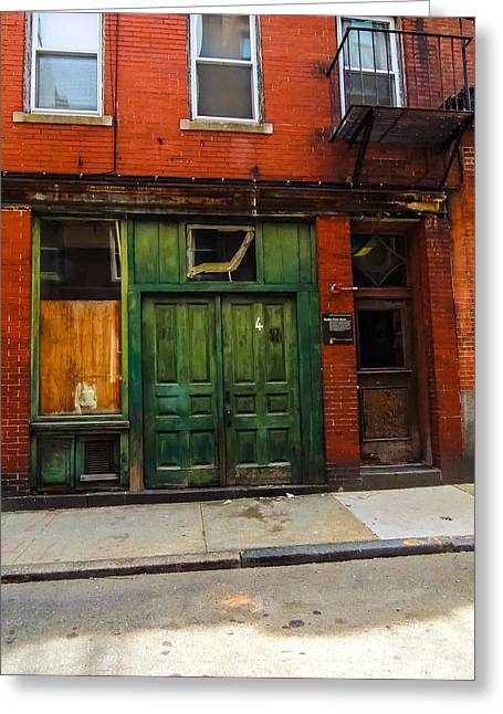 Boston Ma Greeting Cards - Rose Fitzgerald Kennedy Birthplace   Greeting Card by Mim White