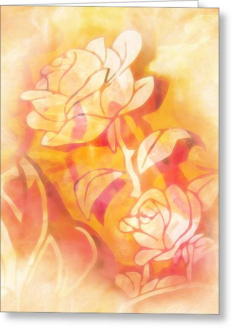 Home Decor Greeting Cards - Roselook Greeting Card by Home Decor