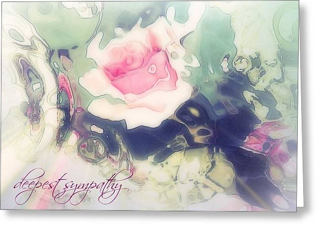 Sorrow Pastels Greeting Cards - Rosememory VII Greeting Card by Candee Lucas