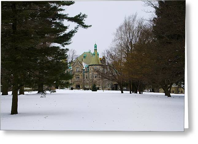 Bryn Mawr Greeting Cards - Rosemont College Greeting Card by Bill Cannon