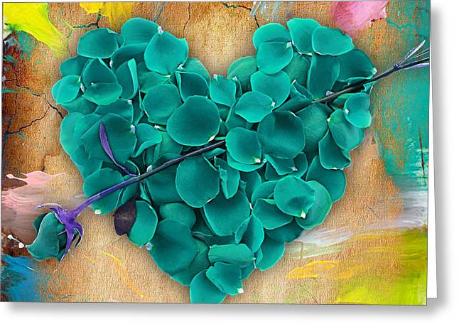 Recently Sold -  - Rose Petals Greeting Cards - Roses Collection Greeting Card by Marvin Blaine