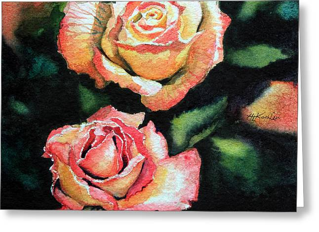 Roses I Greeting Card by Hanne Lore Koehler