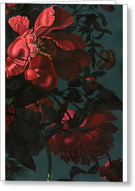 Roses Greeting Card by Philip Slagter
