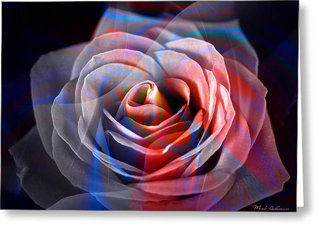 Romanticism Greeting Cards - Rosica 2 Greeting Card by Mark Ashkenazi