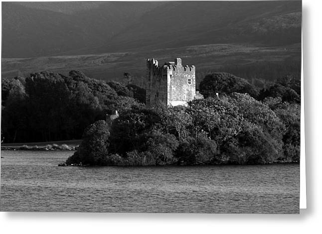 Chieftains Greeting Cards - Ross Castle - County Kerry - Ireland Greeting Card by Aidan Moran