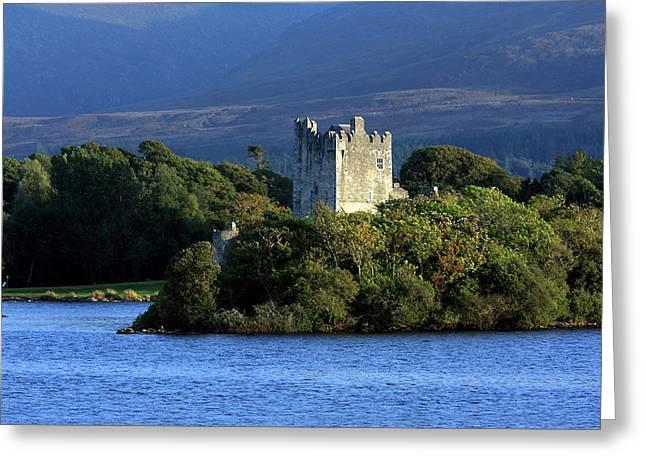 Moran Greeting Cards - Ross Castle - Killarney - Ireland Greeting Card by Aidan Moran