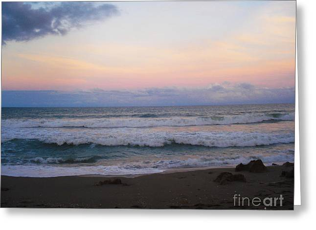 St. Lucie County Greeting Cards - Ross Witham Beach No2 Greeting Card by Megan Dirsa-DuBois