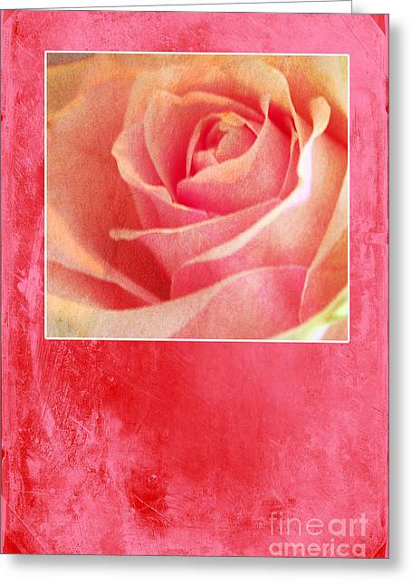 Rosy Greeting Card by Randi Grace Nilsberg