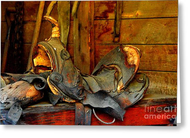 Rough Ride Greeting Card by Lauren Leigh Hunter Fine Art Photography