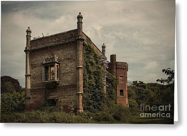 Empty House Greeting Cards - Rougham Hall Greeting Card by Svetlana Sewell