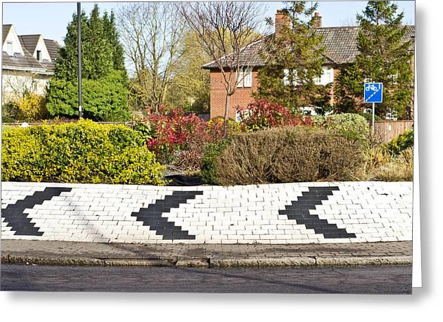 Roundabout Greeting Cards - Roundabout Greeting Card by Tom Gowanlock