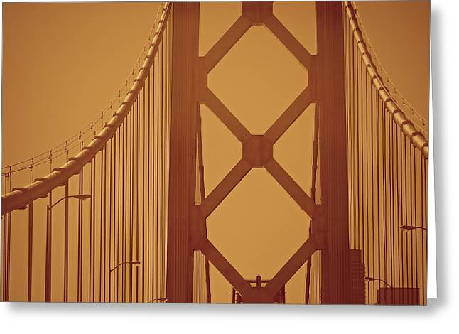 Bay Bridge Greeting Cards - Route 101 North Greeting Card by See My  Photos